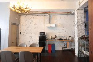 Una cocina o kitchenette en Trip Shot Hotels