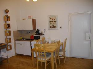 منطقة لتناول الطعام في الشقة