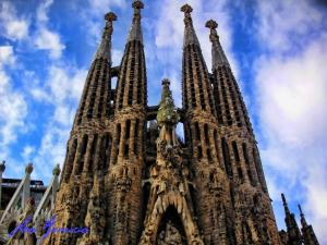 APBCN Sagrada Familia Gaudí Barcelone