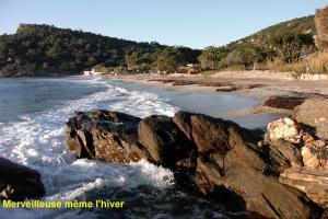 Appartement à 300 m de la plage de Pramousquier Rayol Canadel sur Mer