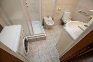 Um banheiro em Standard Brusnika Apartments Krasnoselskaya
