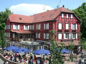 Hotel À La Maison Rouge Barr