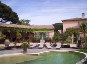 Chambres d'hotes Les Glycines Grimaud