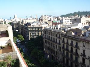 Rambla Catalunya Barcelone