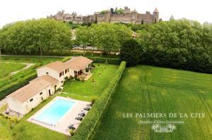 Chambres d'hôtes Les Palmiers de la Cité Carcassonne