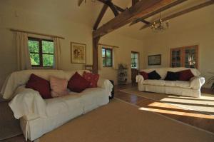 منطقة جلوس في The Cottage at West Burton