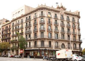 Rambla Cataluña Barcelona Barcelone