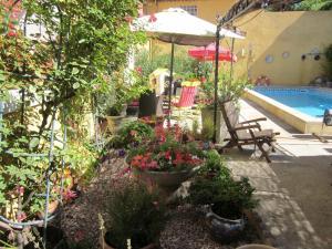 Chez Martine Côté Jardin Carcassonne