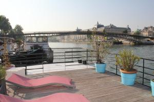 Houseboat Champs Elysees Paris