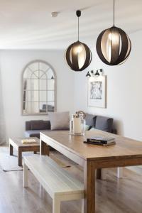 מטבח או מטבחון ב-Happy Apartments