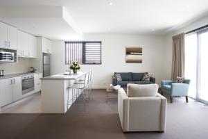 A cozinha ou cozinha compacta de Quest Glen Waverley