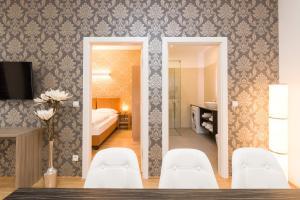 חדר רחצה ב-Vienna Stay Apartments Tabor 1020