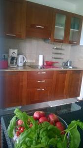 Nhà bếp/bếp nhỏ tại Jurata Apartment