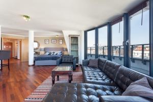 منطقة جلوس في GreatStay Apartment - Danzigerstr.