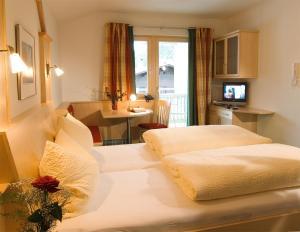 חדר ב-Appartements Bergsonne