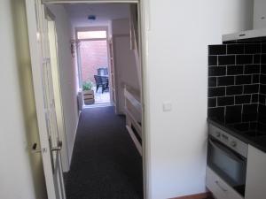 Nhà bếp/bếp nhỏ tại Appartement De Proper Katwijk