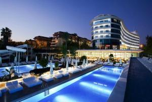 Booking.com: Курортный отель Q Premium,Alanya,Ultra All Inclusiv ...