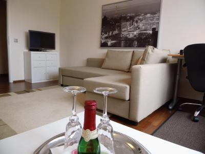 Moderne-1-Zimmer-Wohnung-Wi-Fi, Apartment Leipzig