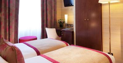 best deals for hotel saint honore paris france. Black Bedroom Furniture Sets. Home Design Ideas