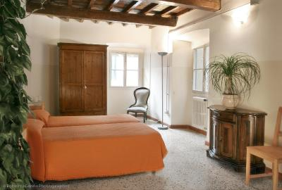 A room at the Academy Hostel, Florence