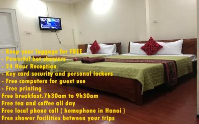 Green Hanoi Backpackers Hostel