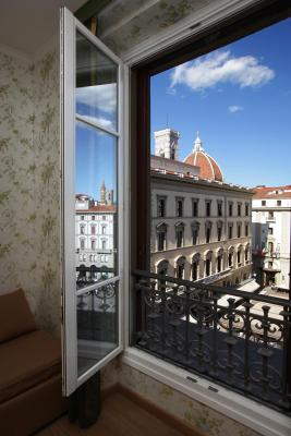The view from A room at the Hotel Pensione Pendini, Florence