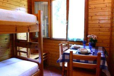 A chalet cabin at Camping Panoramico Fiesole, Florence