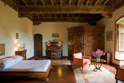 A room at the Hotel Torre di Bellosguardo, Florence
