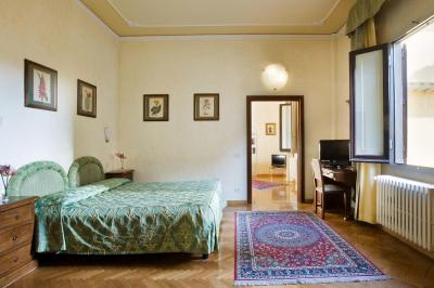 A room at the Hotel Alessandra, Florence
