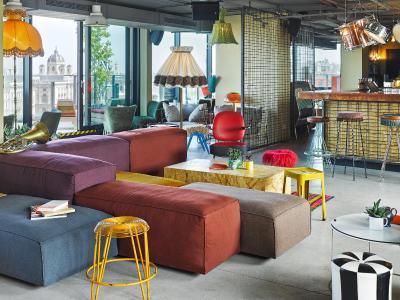 Top deals hotel 25hours museumsquartier vienna austria for Design hotel 25 hours vienna