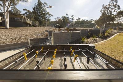 resort village alivio tourist park canberra australia. Black Bedroom Furniture Sets. Home Design Ideas