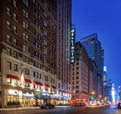 wellington hotel new york city including reviews. Black Bedroom Furniture Sets. Home Design Ideas