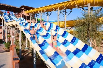 Resort jungle aqua park hurghada egypt for Les noms des hotels