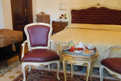A room at the Hotel Pensione Accademia, Venice