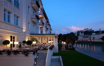 Hotel sacher salzburg austria for Designer hotel salzburg