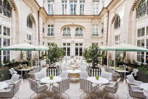 All no paris au pavillon ledoyen paris a michelin for 104 rue du jardin paris