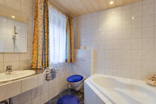 Phòng tắm tại Haus Berthold