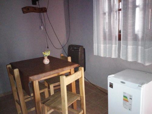 Área para comer en el departamento