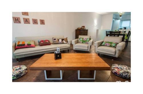 Un lugar para sentarse en Casa Ba Haus