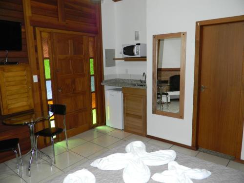 A cozinha ou cozinha compacta de Recanto dos Kerr