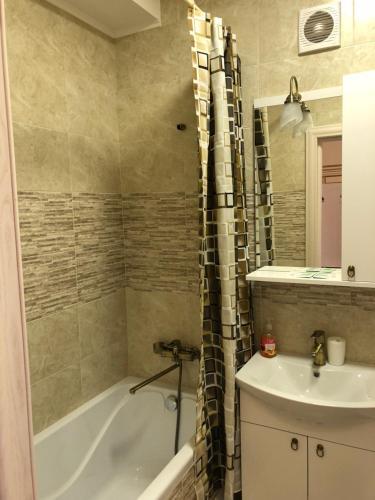 Un baño de Apartment on Parkovaya 6
