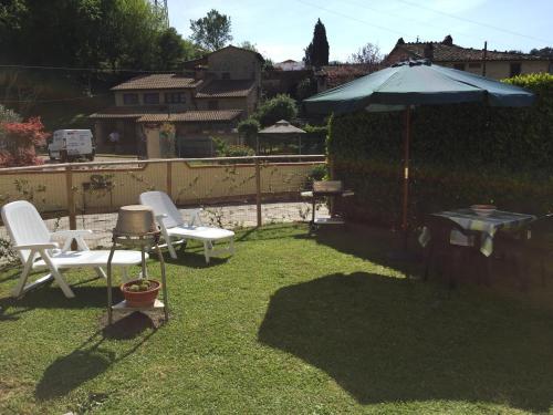 حديقة خارج Casa Lorenzo