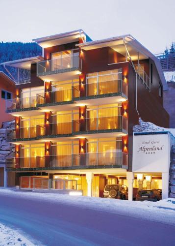 Fotografie hotelů: Hotel Alpenland, Sankt Anton am Arlberg
