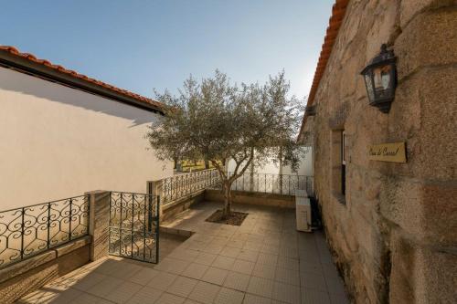 מרפסת או טרסה ב-Quinta Sta Luzia Carrascal