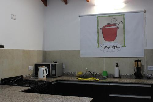 Una cocina o kitchenette en Casa Crisolito