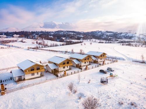 Green Resort Bran בחורף