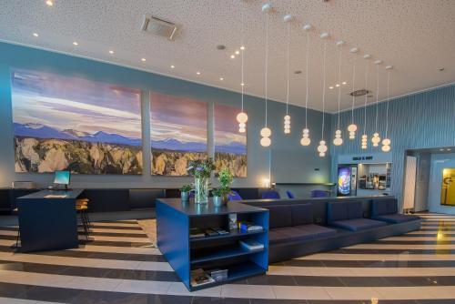 منطقة الاستقبال أو اللوبي في فندق وشقة Stay2Munich المخدومة