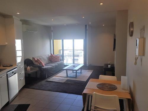 Khu vực ghế ngồi tại Southbank Short Stay Apartment