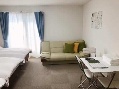 منطقة جلوس في Stay inn Kyoto Shijo Omiya