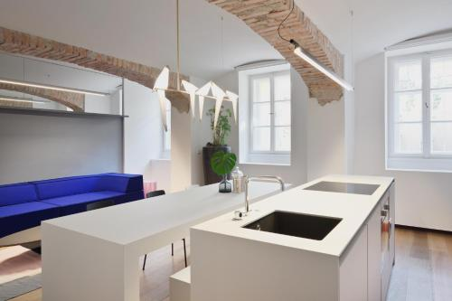 Una cocina o kitchenette en yuki & bal 4*apartment